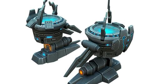 Rotating turret - laser type 03