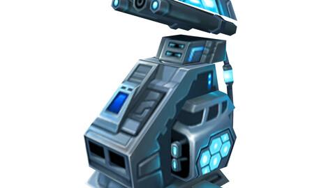 Rotating turret - frozen 02