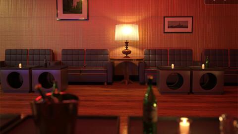 Night Lounge Iray