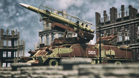 Missile Launcher SA-6