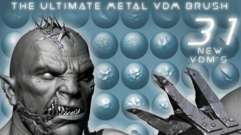 The Ultimate Metal VDM Brush