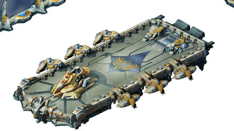 Space - Fortress Battle - Big Spaceship 01