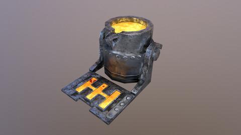 Mine Cauldron 3D Model