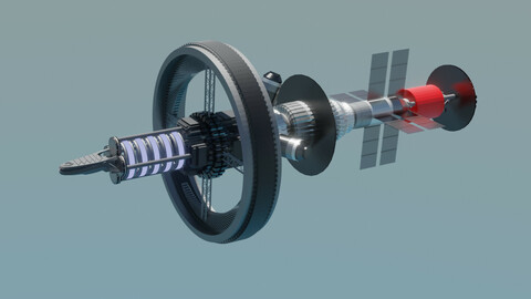 Nuclear-powered Interplanetary Express