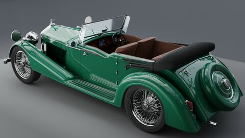 Bentley 1936 vintage