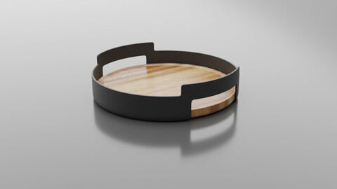 Nordic Kitchen Serving Tray with Handles by Eva Solo
