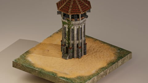 Archer Tower Level 15 3D Model