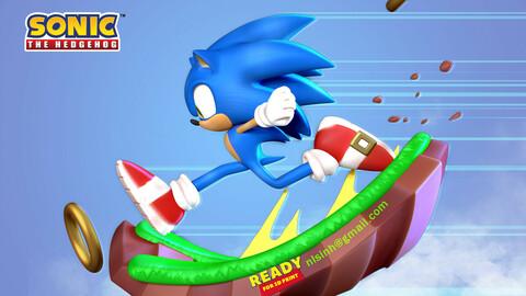 Sonic the Hedgehog - Lightning fast