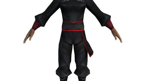 Game 3D Characters - Black Men - Men