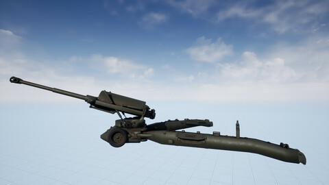 M198 Howitzer Artillery