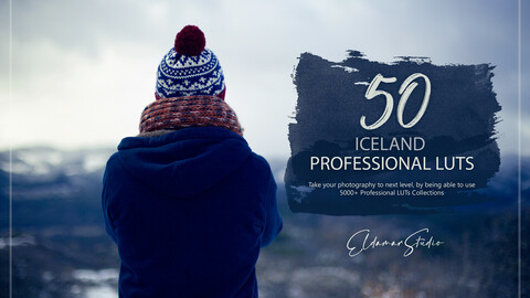50 Iceland LUTs and Presets Pack