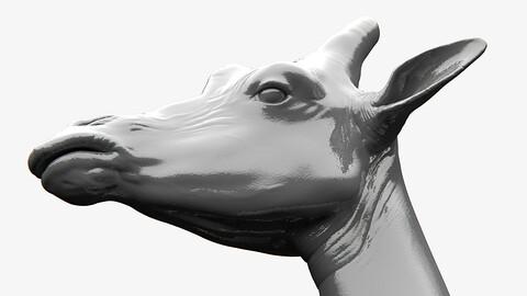 Giraffe Sculpt