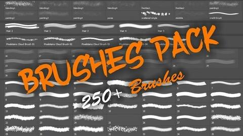 MEGA Brushes Pack Vol - 2 (Painting Edition) 1000+ Brushes