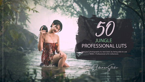 50 Jungle LUTs and Presets Pack