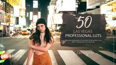 50 Las Vegas LUTs and Presets Pack
