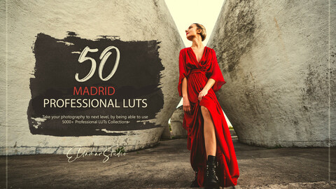 50 Madrid LUTs and Presets Pack