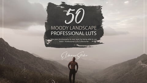50 Moody Landscape LUTs and Presets Pack