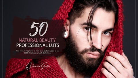50 Natural Beauty LUTs and Presets Pack