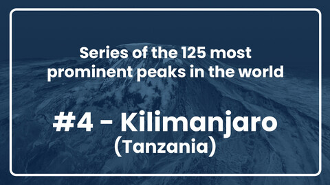 4. Kilimanjaro // Series of the 125 most prominent peaks in the world