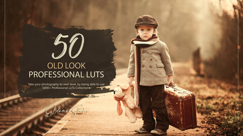 50 Old Look LUTs and Presets Pack