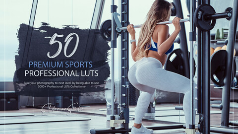 50 Premium Sports LUTs and Presets Pack