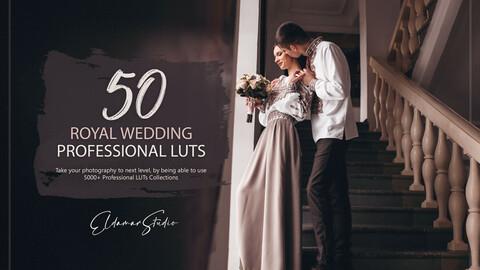 50 Royal Wedding LUTs Pack