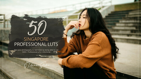 50 Singapore LUTs Pack