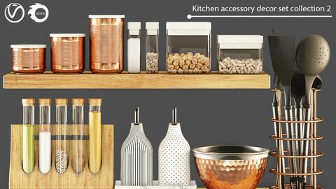 Kitchen accessory decor set collection 2