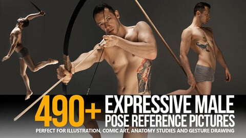 490+ Expressive Male Pose Reference Pictures