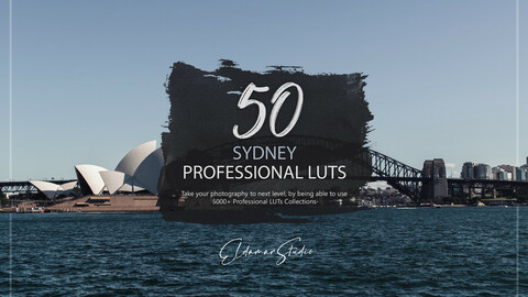 50 Sydney LUTs and Presets Pack