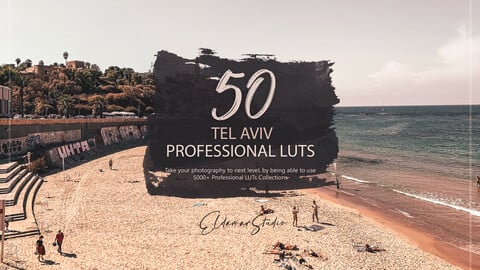 50 Tel Aviv LUTs and Presets Pack