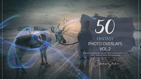 50 Fantasy Photo Overlays - Vol. 2