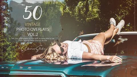 50 Vintage Photo Overlays - Vol. 2