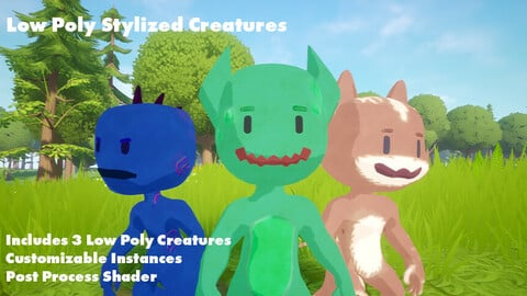 Low Poly Creatures Pack 1