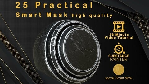 25 Practical and useful smart mask high quality + Video Tutorial - VOL01