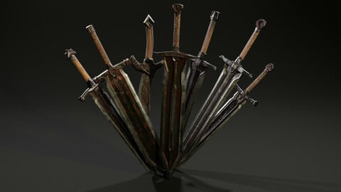Pack Two-Handed Swords