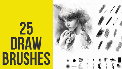 Draw Brushes for Photoshop