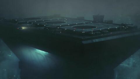 LAPD Bladerunner Building cyberpunk