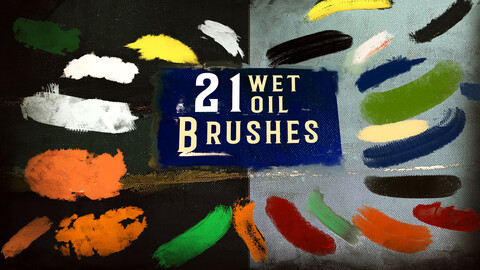 The Artist's Essential Wet Oil Brushes