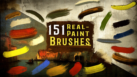 151 Real-Paint Brushes--Paint like an Old Master