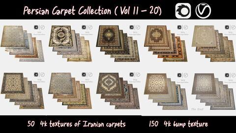 Persian Carpet Collection ( Vol 11 - 20 ) 4k texture