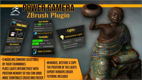 Power Camera ZBrush Plugin