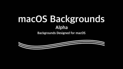 MacOS Backgrounds