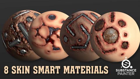 8 SKIN SMART MATERIALS