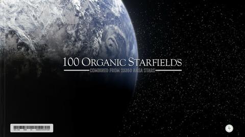 100 Organic Starfields