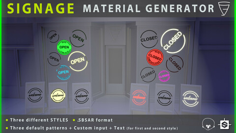 Signage Material Generator