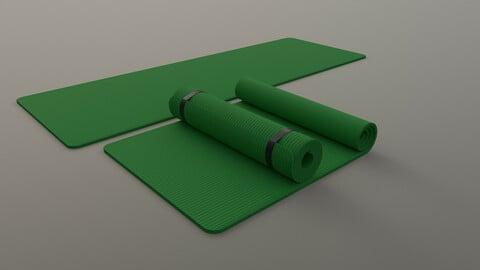 PBR Yoga Mat - Green