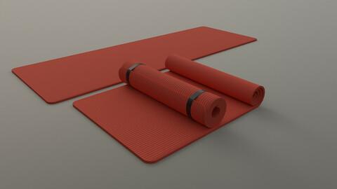 PBR Yoga Mat - Orange
