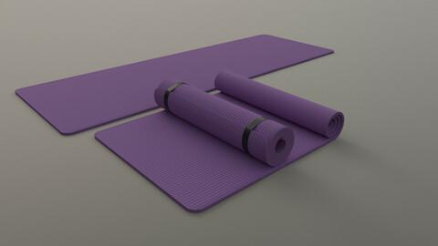 PBR Yoga Mat - Purple