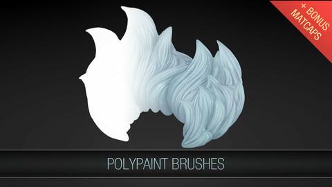 Zbrush Polypaint Brushes